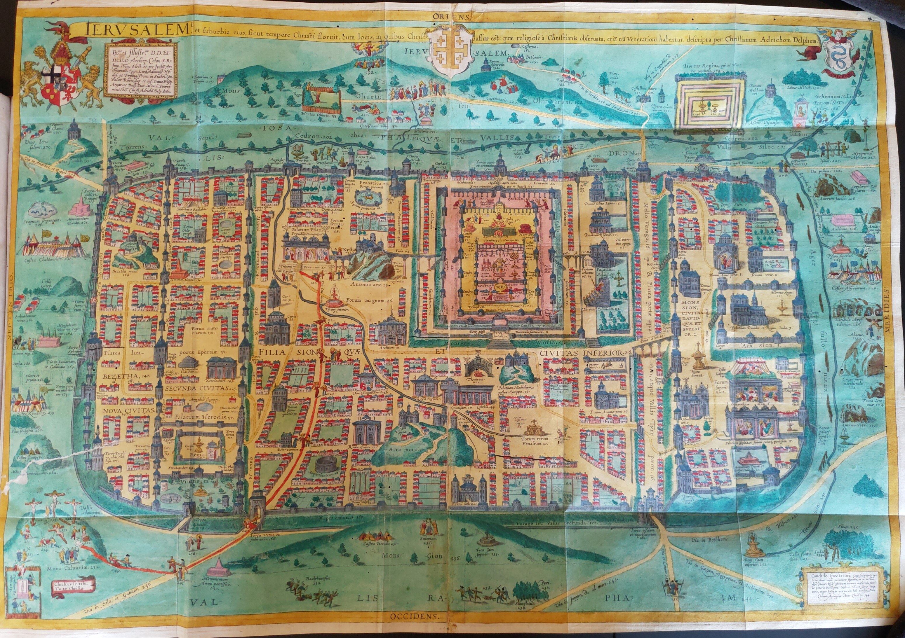 Jerusalem Map small