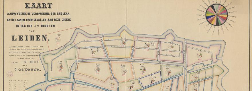 Mapping epidemics: nineteenth century cholera maps of Leiden