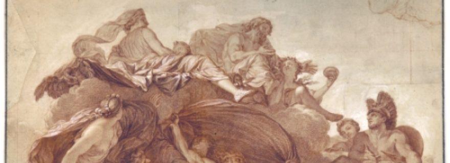 Jupiter presenting his daughter Hebe to Hercules