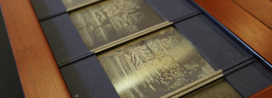 Schaefers's daguerreotypes of the Borobudur