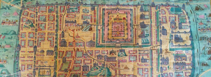 A Spectacular ´Map Theatre´: The 1593 edition of Christiaan Adrichem´s Theatrum Terrae Sanctae