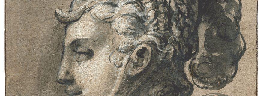 Minerva by Hendrick Goltzius