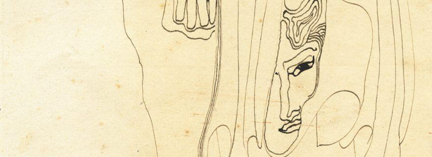 A juvenile drawing by the talented symbolist Carel de Nerée tot Babberich