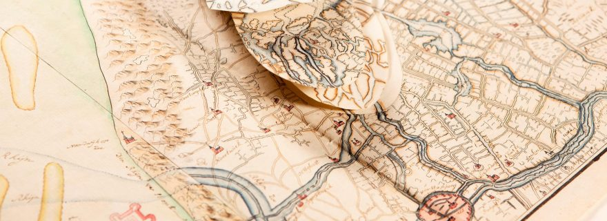 Maps with flaps