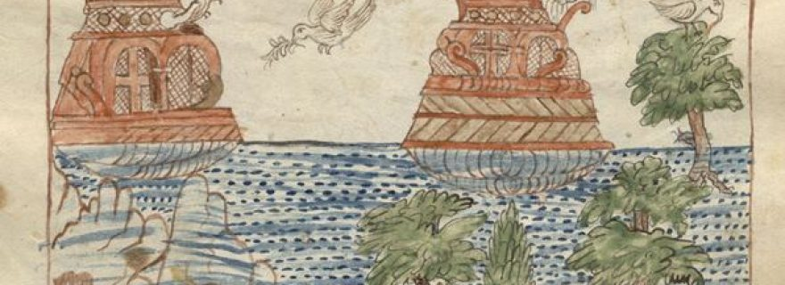 Noah's Ark in a Christian Arabic Manuscript