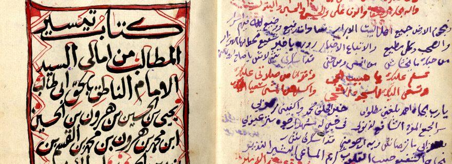 Digitisation Project of Yemeni Manuscripts at Leiden University Libraries