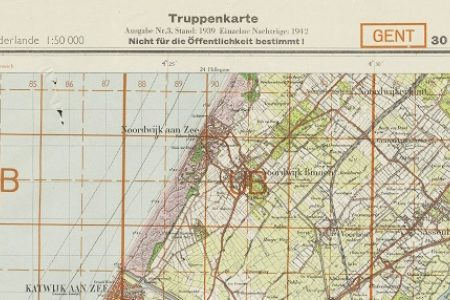 Re-use of maps in times of paper scarcity during WW2