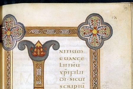 Latin gospel book from the Franco-Saxon School