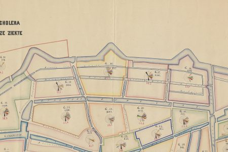 Mapping epidemics: nineteenth century cholera maps of Leiden