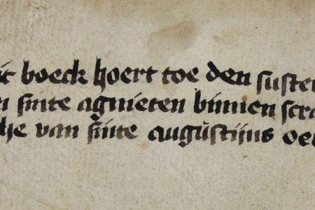 A fifteenth-century manuscript from The Hague