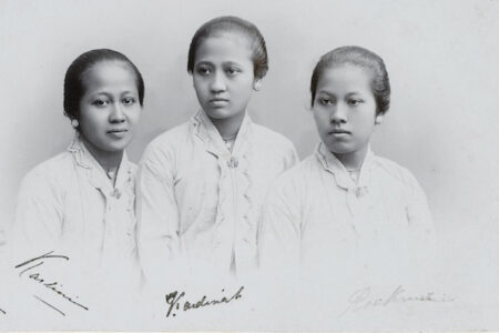 Raden Ajeng Kartini (1879-1904). Pioneer for women's rights in the Dutch East Indies/Indonesia