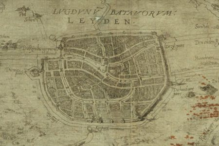Leiden on the map