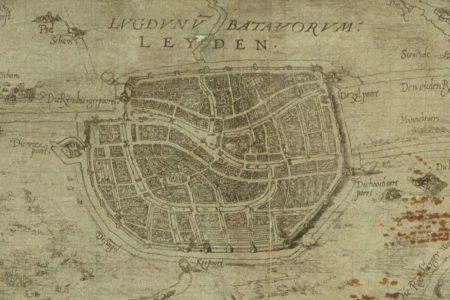 Leiden on the map