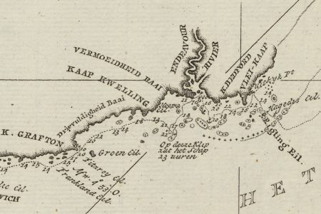 The cartography of Captain James Cook