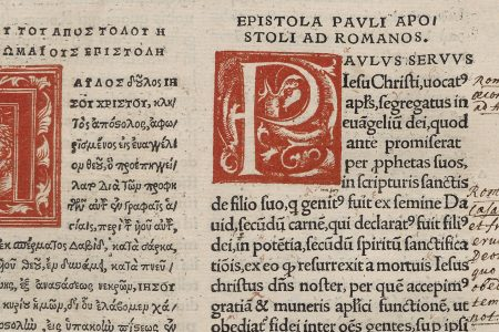 Erasmus' New Testament edition of 1516