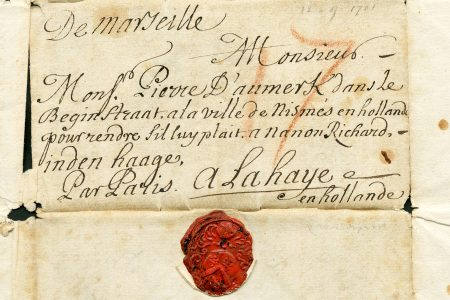 Letter from 'galley-slave' no. 9886 in Marseille