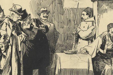Johan Braakensiek's Cartoon of an Imprisoned Ottoman Sultan (1909)