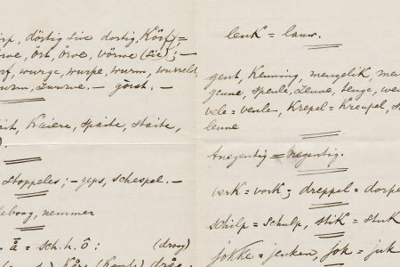 Observations about the Katwijk dialect from 1879