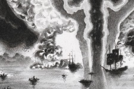 The Raid on the Medway by Rens Krikhaar
