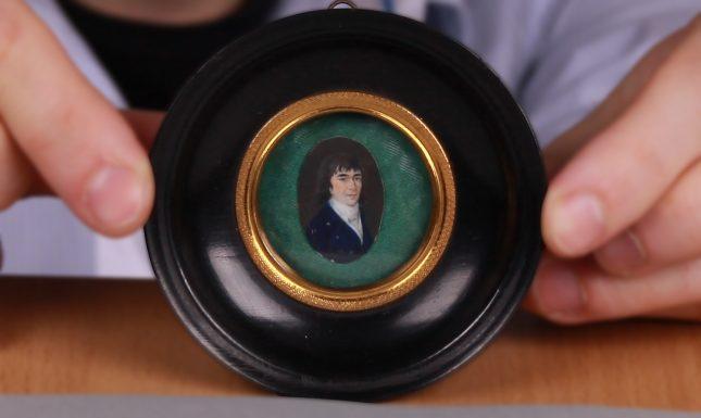 Lotte van den Bosch Bilderdijk als student