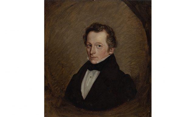 Portret Bodel Nijenhuis door Cornet