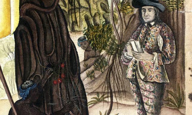 Rumphius Afb 5 Detail van de titelprent van het Auctuarium 2
