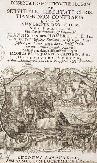 Jacobus Capitein dissertatie