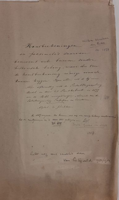 Oude omslag ca 1877 1